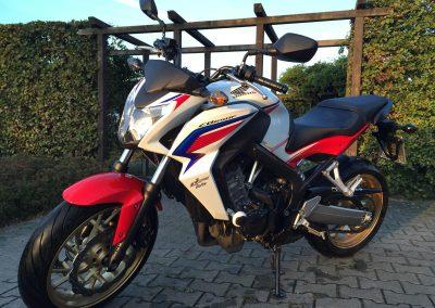 Honda CB 650F für die Klasse A